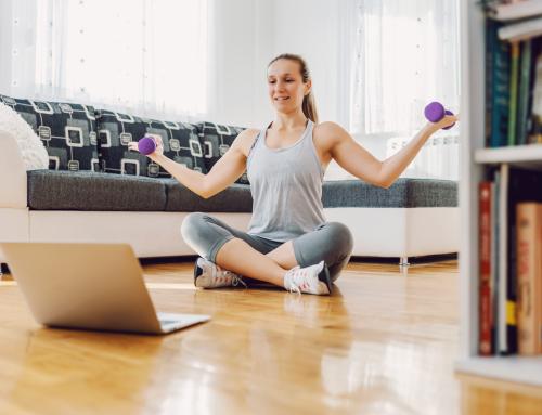 Nutrifit: alimentação saudável e exercícios físicos na palma da mão
